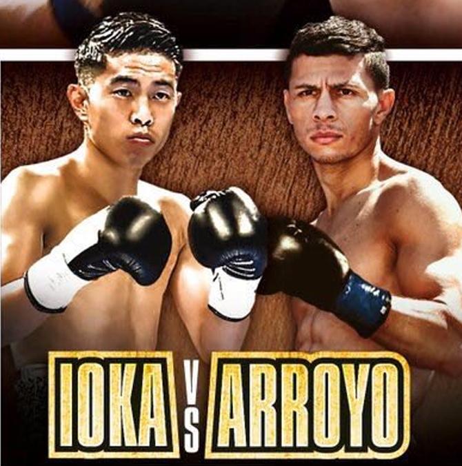 Kazuto Ioka vs McWilliams Arroyo