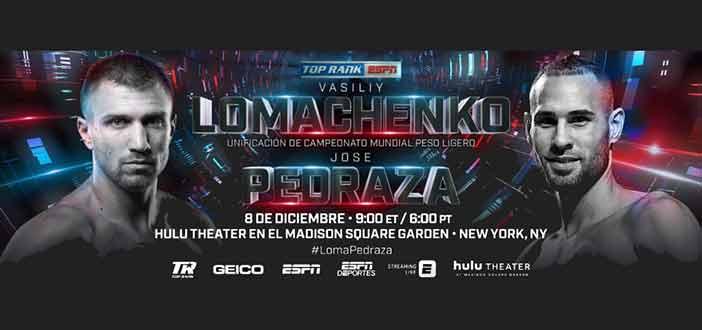 Lomachenko vs Pedraza