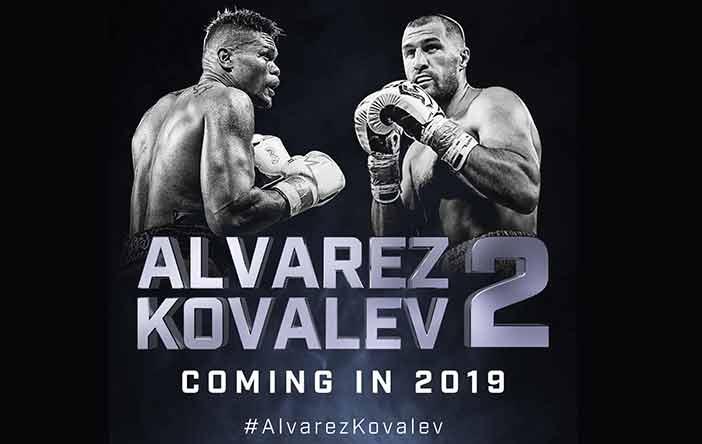 Sergey Kovalev vs. Eleider Álvarez