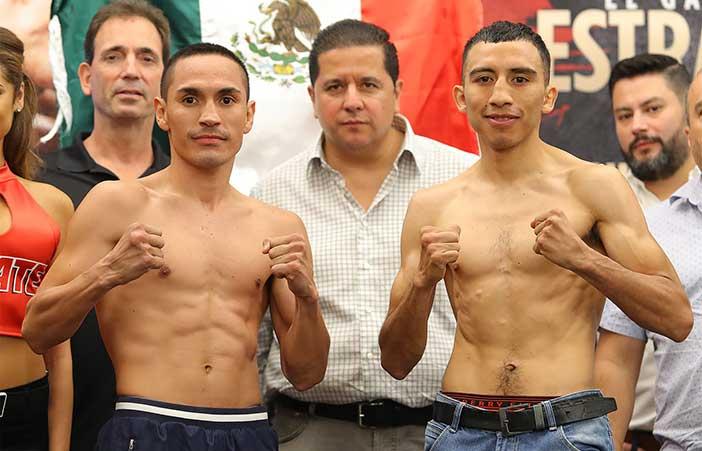 Estrada vs Orucuta (Foto: Tom Hogan - Hoganphotos/ 360 Promotions)