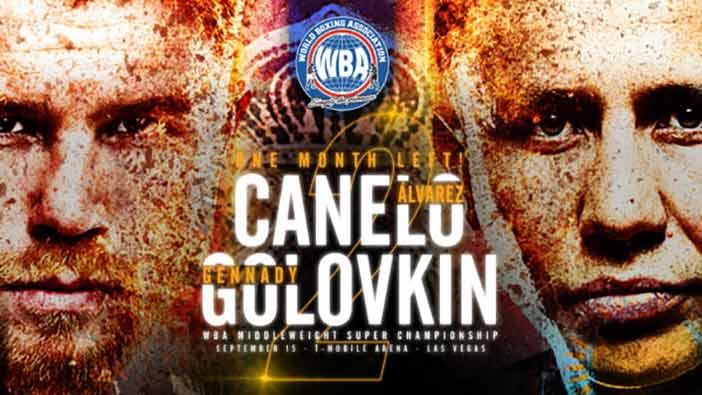 Canelo vs Golovkin AMB