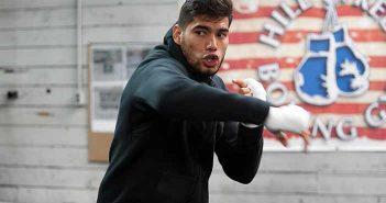 """Gilberto """"Zurdo"""" Ramírez (Fotos: Manny Álvarez, Zápari Boxing Promotions)"""