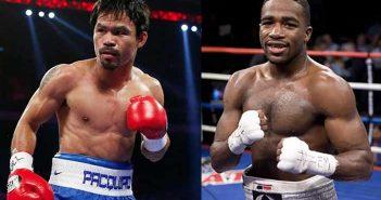 Manny Pacquiao vs Adrien Broner