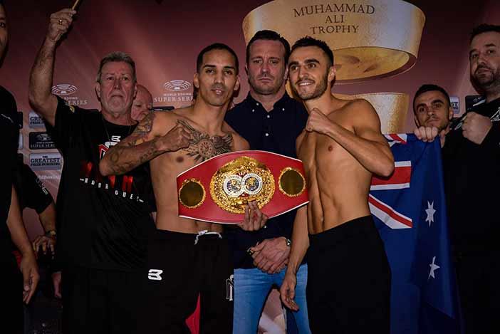 """""""Manny"""" Rodríguez vs Moloney (Foto: Alex Nunez / Fresh Productions Boxing)"""