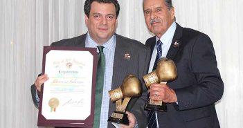 Mauricio Sulaimán y Benjamín Rendón (FOTOS: EFHV)