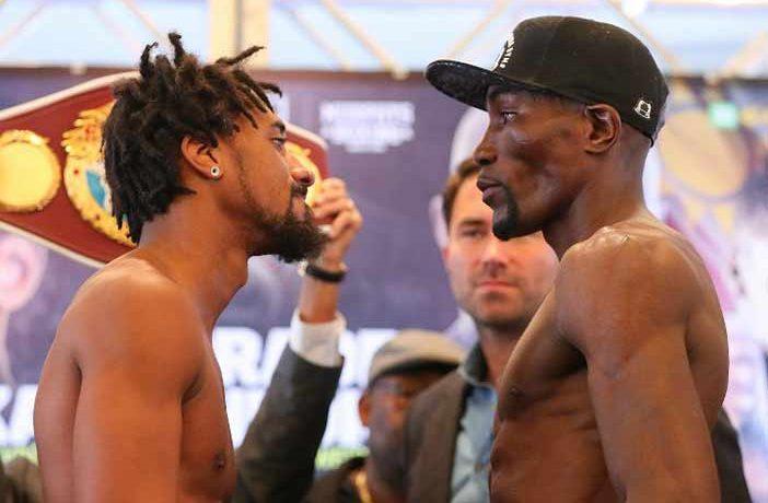Demetrius Andrade vs Walter Kautondokwa (Foto:Ed Mulholland)