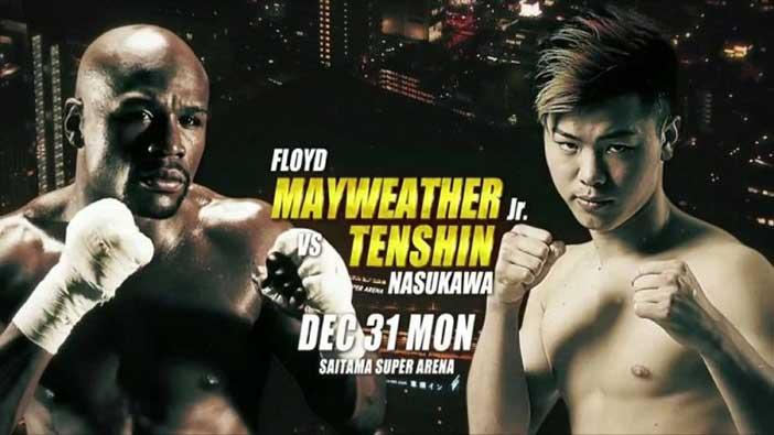 Floyd Mayweather vs Tenshin Nasuka