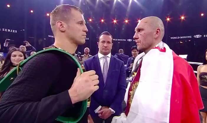 Mairis Briedis y Krzysztof Glowacki (WBSS)