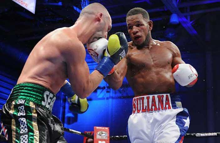 Seanie Monaghan vs Sullivan Barrera