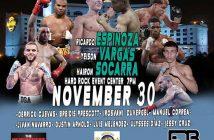 Yeison Vargas vs Ricardo Espinoza