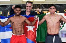 "Yuriorkis Gamboa vs Miguel ""Barreterito"" Beltrán, Jr. (Foto: Lester Silva)"