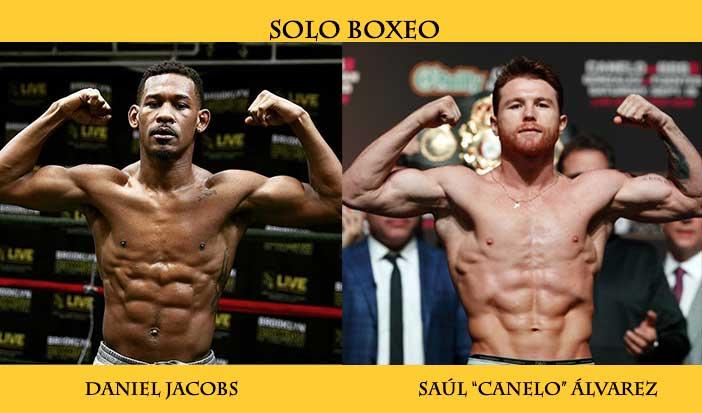"Daniel Jacobs vs Saúl ""Canelo"" Álvarez"