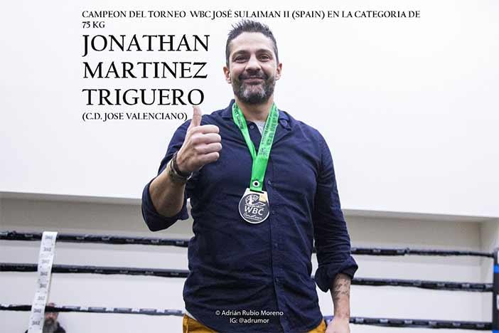Jonathan Martínez Trigueros WBC