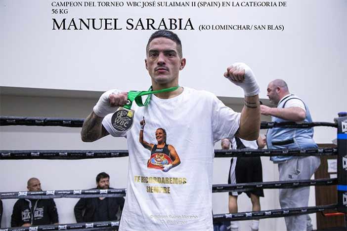 Manuel Sarabia WBC
