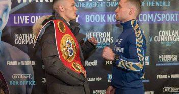 Warrington-vs.-Frampton (Photo Credit: Queensbury Promotions)