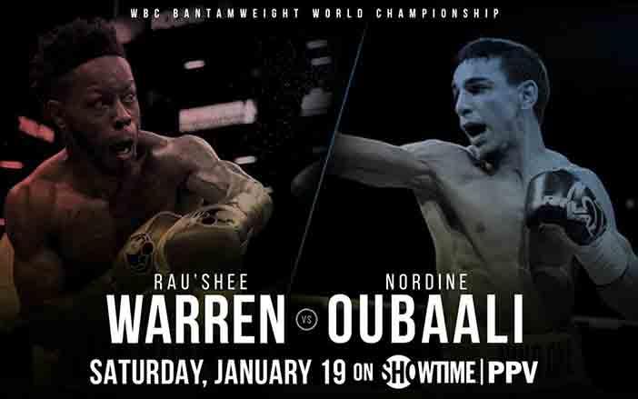 Nordine Oubaali vs Rau'shee Warren