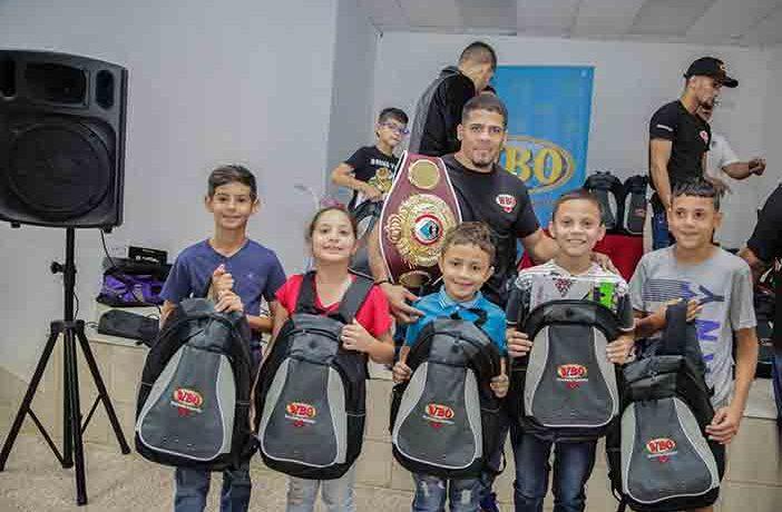 WBO Kids Drug Free (Foto. Víctor Planas / OMB)