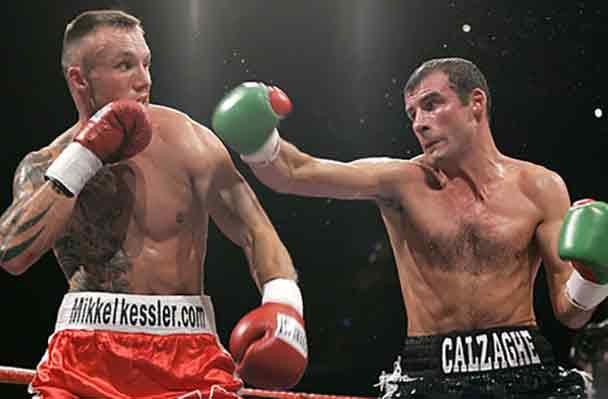 Kessler vs Joe Calzaghe