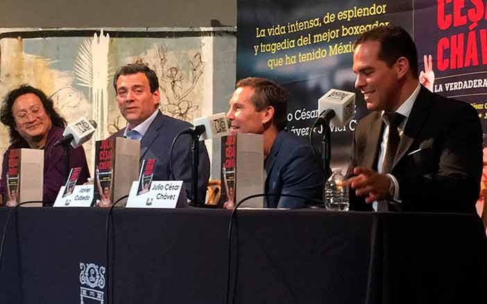Julio César Chávez presenta libro