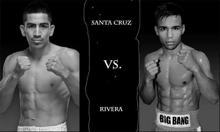 Leo Santa Cruz vs Rafael Rivera