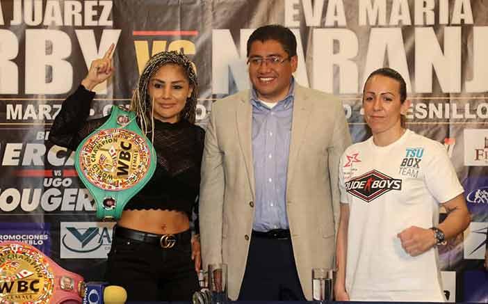 "Mariana ""Barby"" Juárez vs Eva María Naranjo"