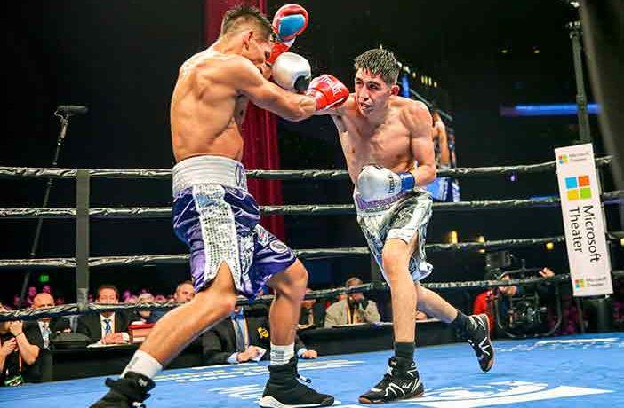 Santa Cruz vs Rafael Rivera (Andy Samuelson / Premier Boxing Champions)