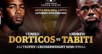 Yunier Dorticos y Andrew Tabiti