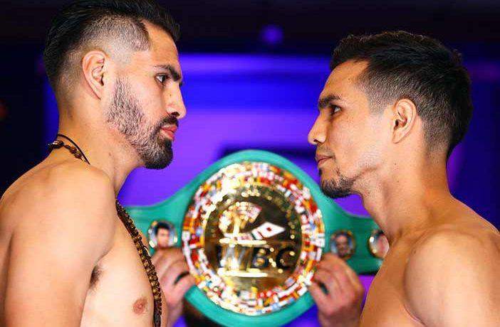 José Ramírez vs José Zepeda (Fotos: Mikey Williams / Top Rank)