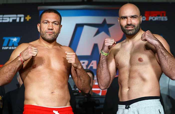 Kubrat Pulev vs. Bogdan Dinu (Foto: Mikey Williams / Top Rank)