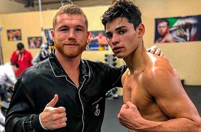 Canelo y Ryan García