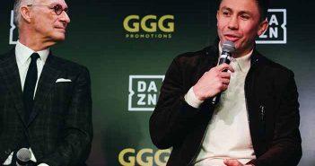 John Skipper (DAZN) y Golovkin