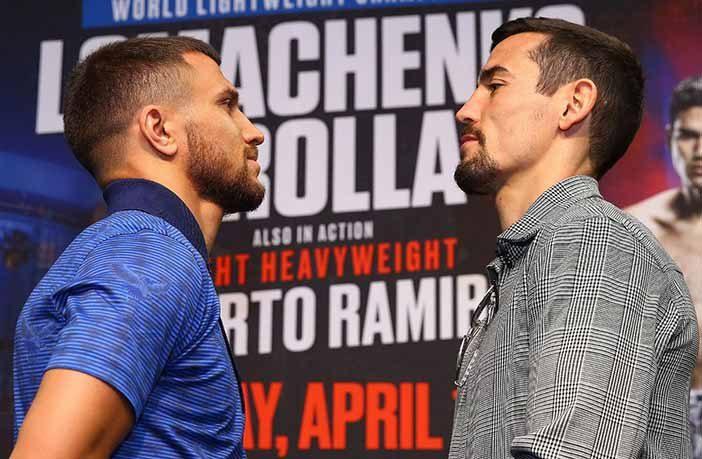 Lomachenko vs Crolla (Mikey Williams / Top Rank)