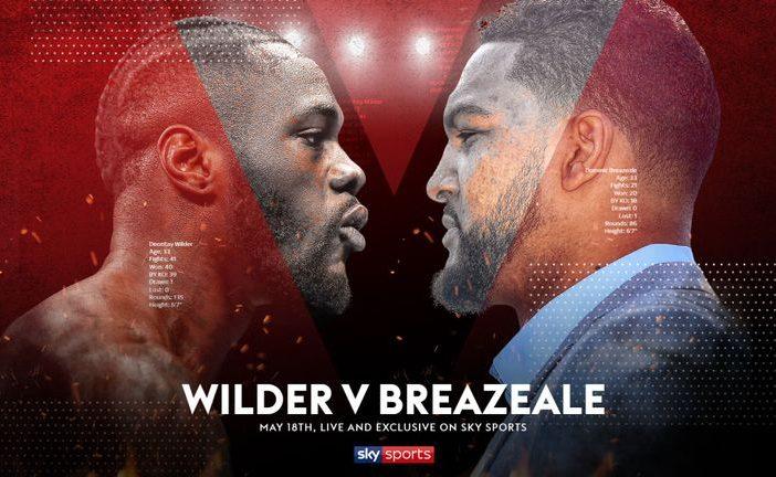 Deontay Wilder vs Dominic Breazeale