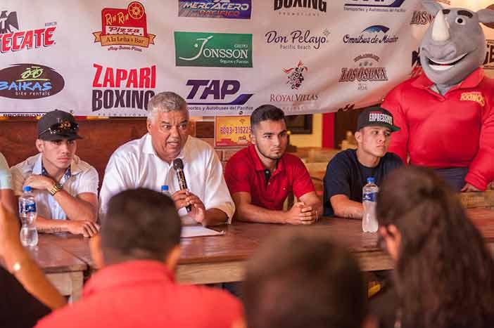 Leonardo Murúa, Zápari Boxing Promotions