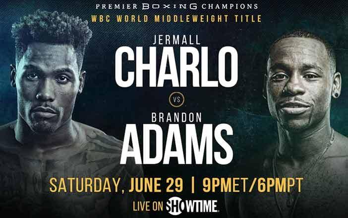 Jermall Charlo vs Brandon Adams