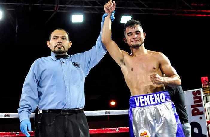 "Jesús ""Veneno"" Aréchiga ( Temmy Villa, Zápari Boxing Promotions)"