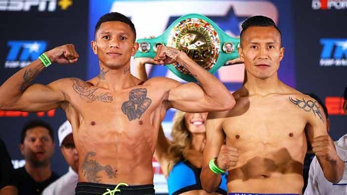 Berchelt vs Vargas 2 (Mikey Williams / Top Rank)