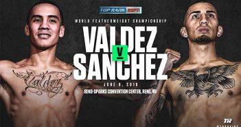 Óscar Valdez vs Jason Sánchez
