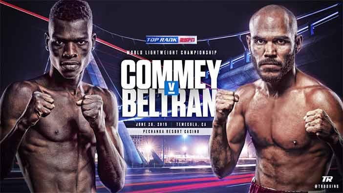 Richard Commey vs Ray Beltrán