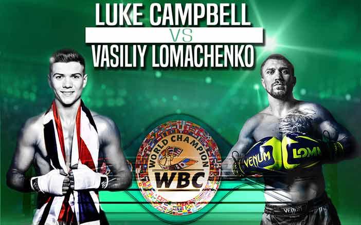 Luke Campbell y Vasyl Lomachenko