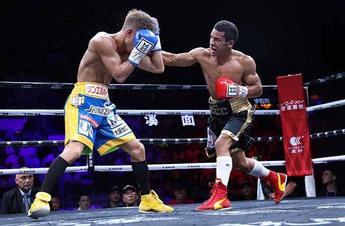 Cañizalez vs Kimura (Foto: Lizette De Los Santos)