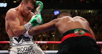 Jacobs golpea a Canelo
