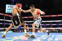 Jhonny González golpea a Rafael 'El Potro' Hernández (Promociones del Pueblo)