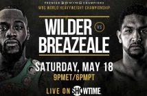 Wilder vs Breazeale CMB