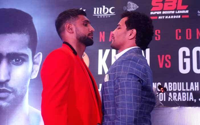 Amir Khan vs Neeraj Goyat
