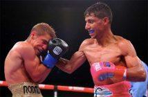 """Elwin Soto vs """"Tito"""" Acosta (Foto: Tom Hogan/Golden Boy)"""