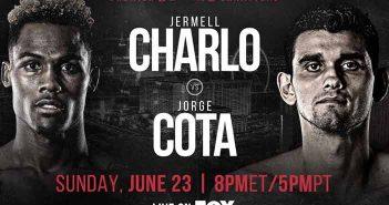 JERMELL CHARLO VS JORGE COTTA