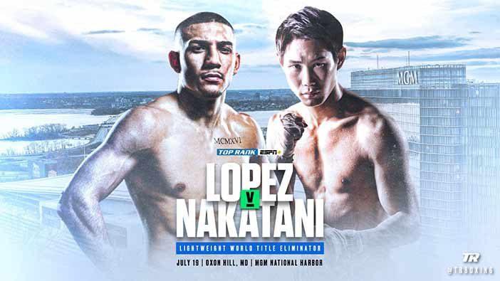 Teófimo López vs Masayoshi Nakatani