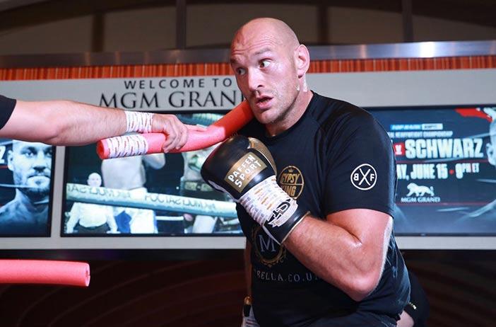 Tyson Fury (Mikey Williams/Top Rank)