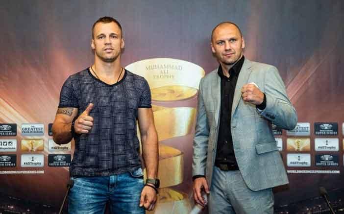 Mairis Briedis y Krzysztof Glowacki